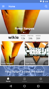 FANDOM for: Power Rangers - náhled