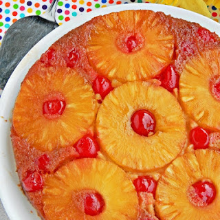 The Best Eggless Pineapple Upside Down Cake