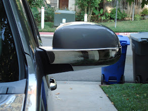 Photo: chrome overlay add-on to the mirrors see at www.AvalancheAndAccessories.com Buy at http://www.AvalancheAndAccessories.com Buy other auto and truck accessories at: http://www.AutoAccessoriesNow.com