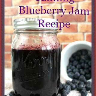 Canning Blueberry Jam