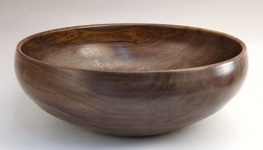 "Photo: Stan Welborn - Bowl - 12"" x 4 1/4"" - walnut"