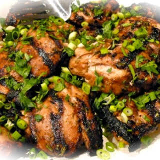 Weight Watchers Grilled Ginger Lime Chicken.