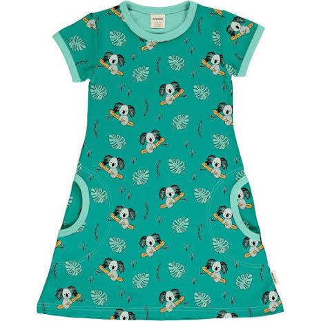 Maxomorra Dress SS Koala Garden
