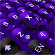 Cool Black Purple Keyboard Theme APK