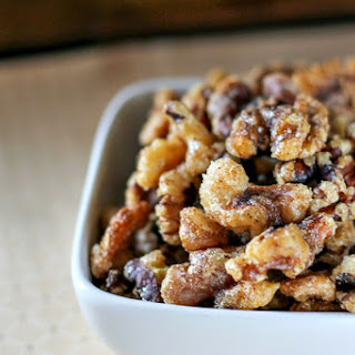 Spiced Walnuts Snack Recipes