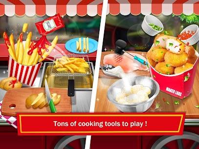 Street Food: Deep Fried Foods Maker Cooking Games 4