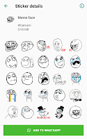screenshot of Memes - Sticker Pack For Whatsapp