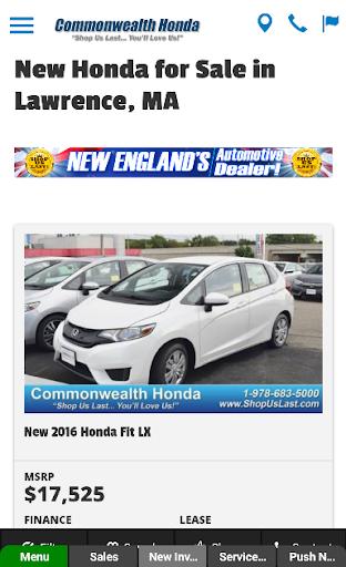 ... Commonwealth Honda screenshot 3 ...