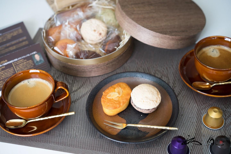 丸箱の焼き菓子セット