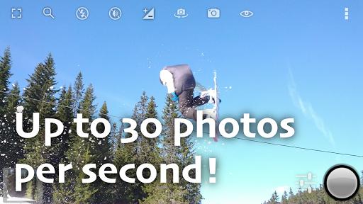 Fast Burst Camera Lite screenshot 1