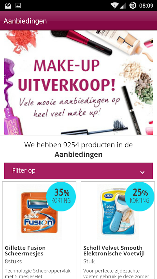 Drogisterij.net | Mobiel Shop- screenshot