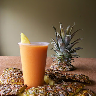 Carrot-Pineapple Smoothie.