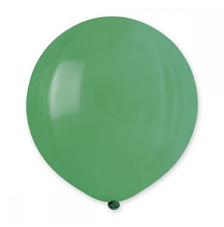 Ballonger helrunda 48 cm, gröna