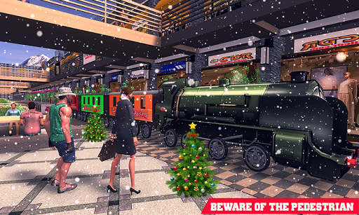 Christmas Shopping Simulator.Christmas Shopping Mall Snow Train Simulator App Report On