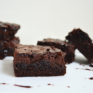 Hot Fudge Cheesecake Brownies.