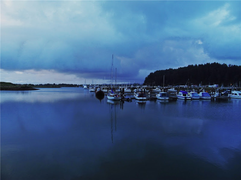 Photo: AccuFan Weather Photo of the Day: Stormy Harbor on June 7, 2012 Winchester Bay, Oregon by AccuWeather Photo Gallery user Debbie. http://ow.ly/bsgh9