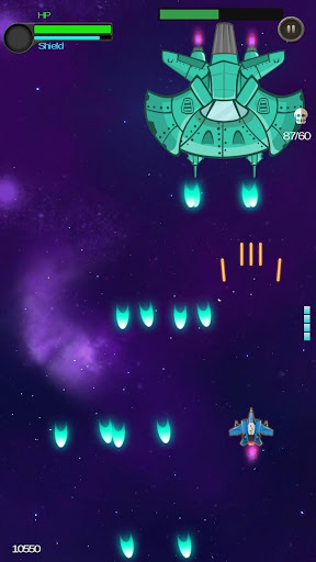 Space Shooter - Galactic War  captures d'écran 1