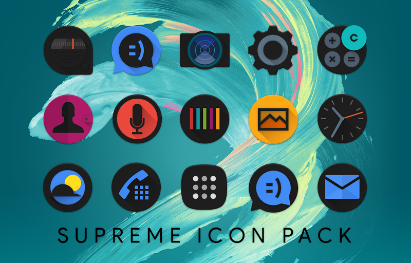 Supreme Icon Pack Screenshot 14