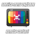 Service Menu Explorer LG TV icon