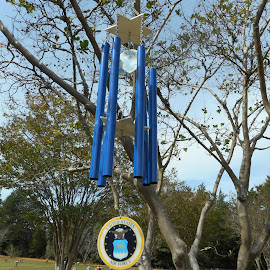 Wind Chimes  by David Jarrard - Artistic Objects Musical Instruments ( musical, graves, wind chimes, creative items )
