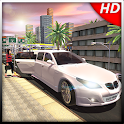 Luxury Limousine Car Taxi Driver: City Limo games icon