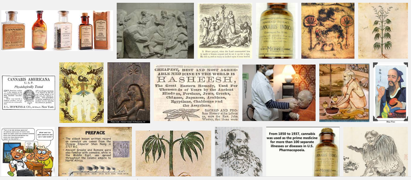 The Many Cannabis Medicines Available in America 1900-1933