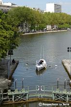 Photo: Prologue Rame 2012 Traversée de Paris et remontée de la Seine jusqu'au Havre Rameur de l'exploit à Pantin 03.05.12 PHOTO ©BRUNO DES GAYETS