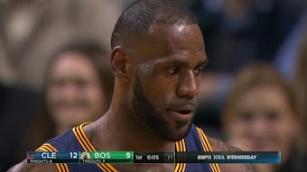 Cleveland Cavaliers at Boston Ceeltics from 03/01/2017