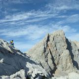Fotos da aresta Madejuno - Tiro Llago, na zona de Fuente Dé (Picos de Europa)