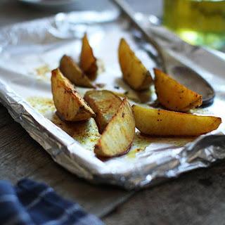 Saffron Potatoes.