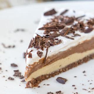Epic Chocolate Peanut Butter Banana Ice Cream Pie