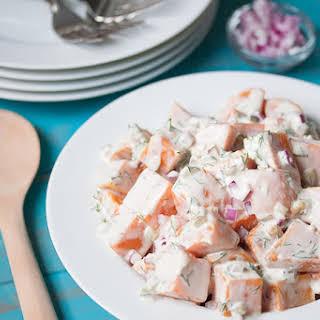 Easy Southern Sweet Potato Salad (Vegan).