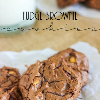 Fudge Brownie Cookies.