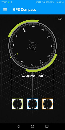 Compass Sensor for Android Digital Compass GPS 360 1.1.1 Screenshots 1