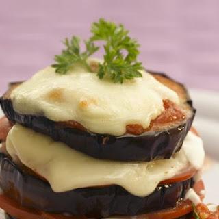 Eggplant Mozzarella Tower.