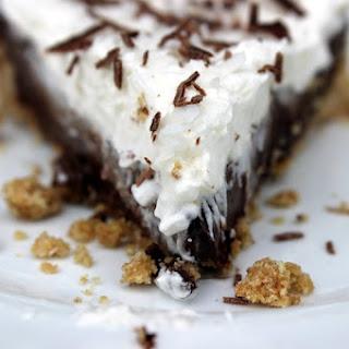 Vegan Chocolate Silk Pie with Coconut Almond Cream