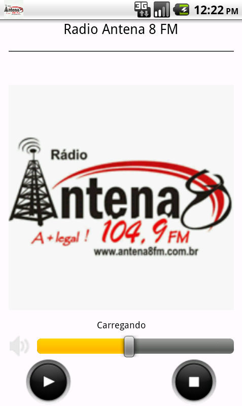 Radio Antena 8 fm- screenshot