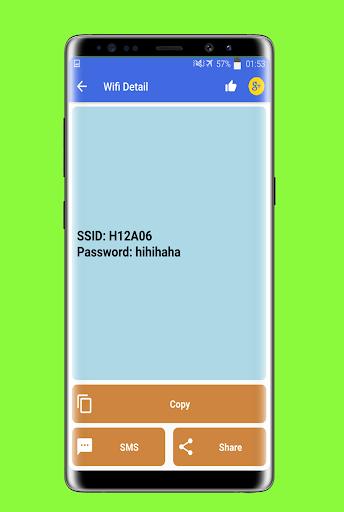 Show Wifi Password - Share Wifi Password 1.5 screenshots 3