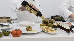 Aceite de oliva Virgen extra en la dieta de cada día.