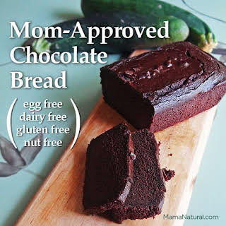 Mom-Approved Chocolate Zucchini Bread (Gluten-Free, Dairy-Free, Egg-Free, Nut-Free).
