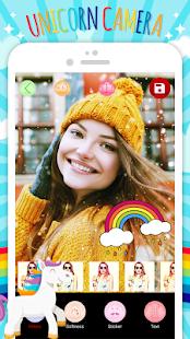 Unicorn Camera & Stickers - náhled