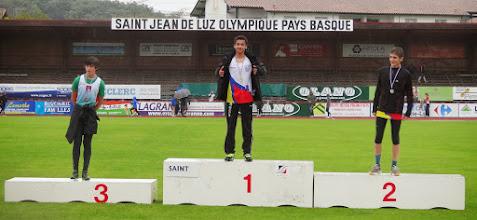 Photo: Brice Champion d'Aquitaine Hauteur Corentin Vice Champion d'Aquitaine