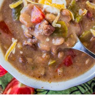 Cowboy Pinto Bean Soup (Slow Cooker).
