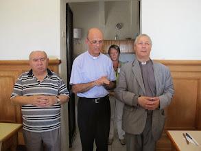 Photo: 13.10.09Gozo,Victoria : Père R.Abdila, Père Patrick et le Prieur de la communauté, couvent St Augustin