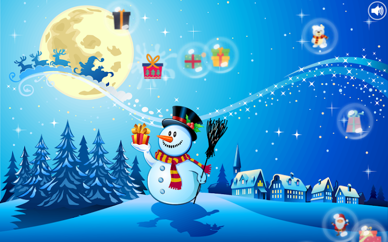 android Christmas Bubbles for Kids Screenshot 5