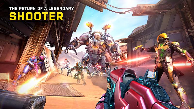 SHADOWGUN LEGENDS: Multiplayer FPS Shooting game Screenshot 0