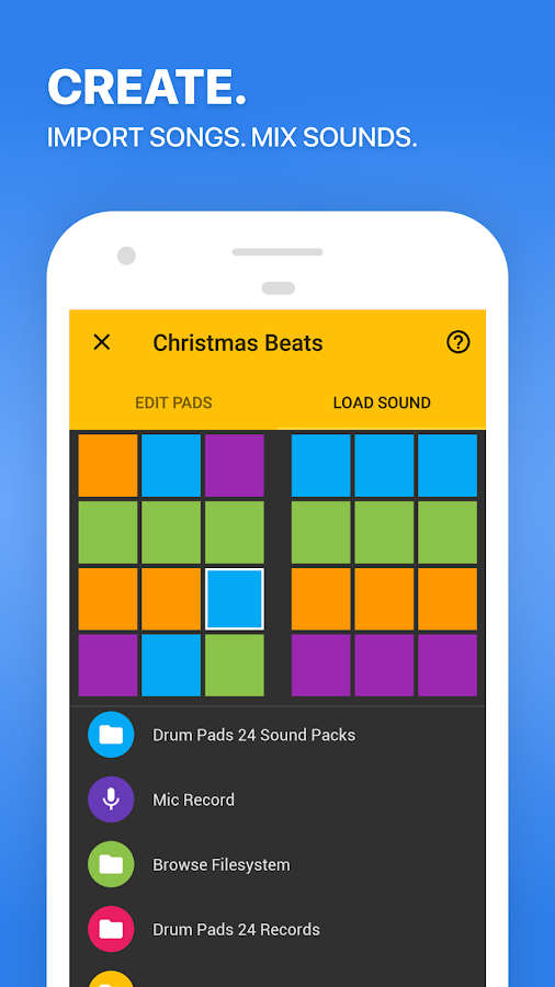 Screenshots of Drum Pads 24 - Music Maker for iPhone
