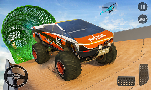 Monster Truck Mega Ramp Stunts Extreme Stunt Games 1.17 screenshots 1