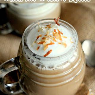 Coconut Cream Latte.