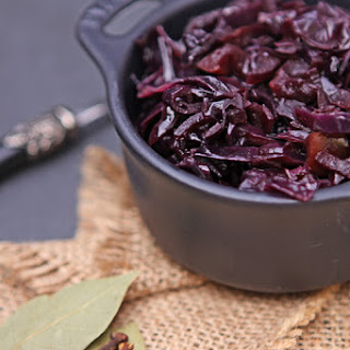 Rotkohl (braised Red Cabbage With Apples)